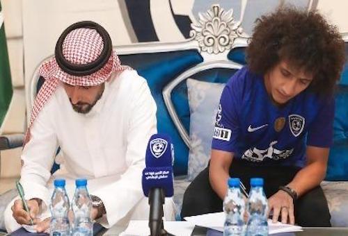 عموري ينتقل إلى الهلال السعودي رسميا