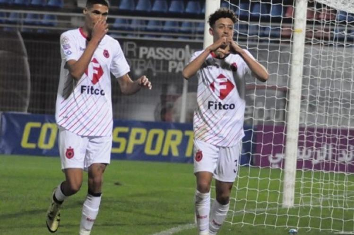 بن يشو يحرز أول أهدافه خارج الميدان وينفرد بصدارة هدافي البطولة