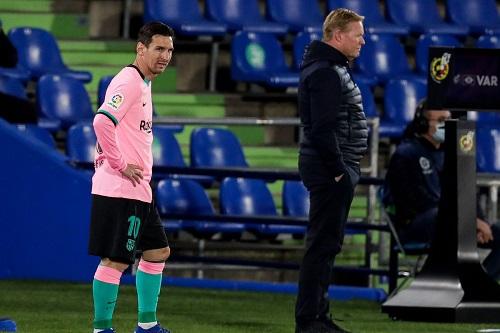 """الهولندي كومان: ليست لدي أية """"شكوك"""" حول أداء ليونيل ميسي"""