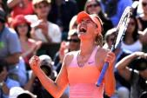 شارابوفا: إنه الانتصار الأكثر جلبا للسعادة