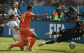 أهداف هولندا وتشيلي