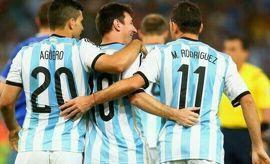 أهداف الأرجنتين والبوسنة والهرسك