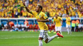 أهداف البرازيل والكاميرون