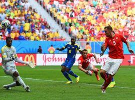 أهداف سويسرا والاكوادور
