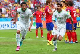 أهداف الجزائر وكوريا