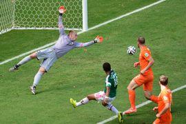 هدف المكسيك على هولندا