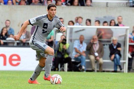برادة يوقع أول أهدافه مع فريقه الجديد مرسيليا