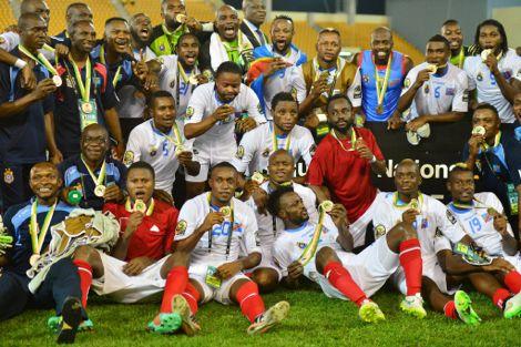 الكونغو الديمقراطية تفوز ببرونزية الـ CAN