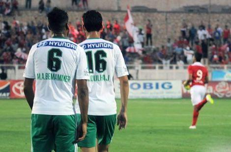 إقصاء الرجاء من كأس الـ CAF بهزيمة أمام النجم الساحلي بثلاثية