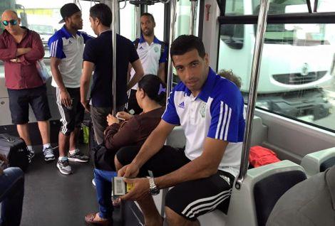 """الرجاء يصل لتونس لمواجهة """"النجم"""" في إياب حَارِق بكأس الـ CAF"""