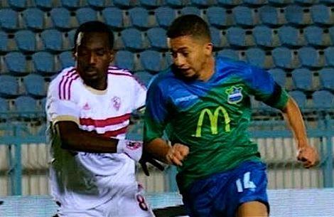 نجدي يساهم في تعادل المقاصة أمام الزمالك في الدوري المصري