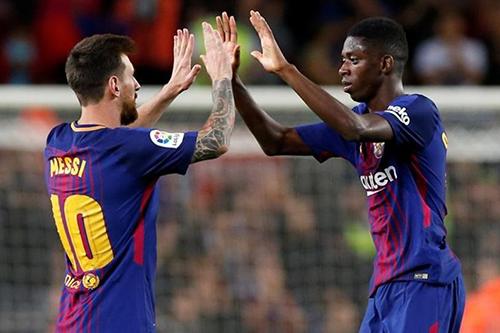 ديمبيلي ينقذ برشلونة من الخسارة أمام أتلتيكو مدريد في آخر دقيقة