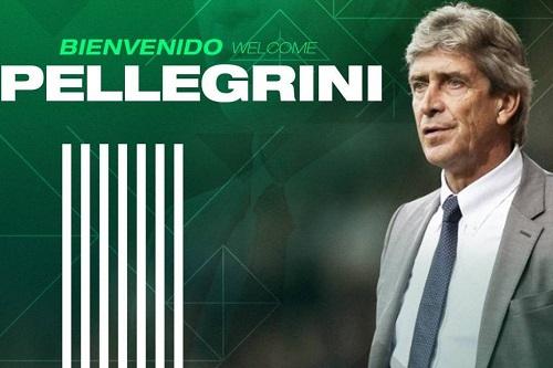 مانويل بيليغريني مدربا رسميا لريال بيتيس