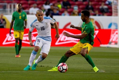 أوروغواي تودع كوبا أمريكا 2016 بانتصار شرفي على جامايكا