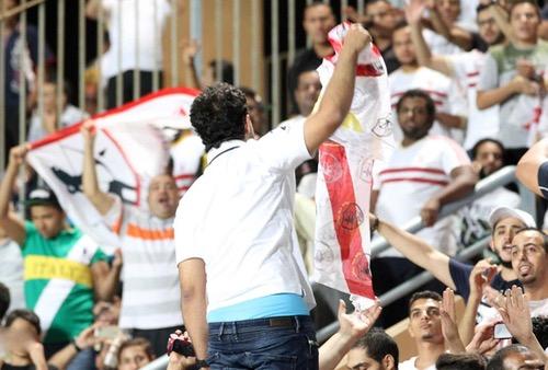 """الجالية المصرية تطلب مدرجاً لمؤازرة الزمالك في نهائي """"الأبطال"""" بجنوب افريقيا"""
