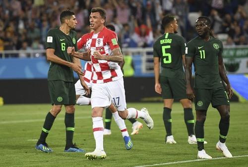 """كرواتيا تصطاد """"نسور نيجيريا"""" بهدفين في مستهل مشوارها في المونديال"""