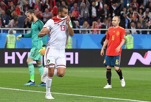 هدف بوطيب في شباك إسبانيا يقوي حظوظه في الانتقال إلى فريق جديد