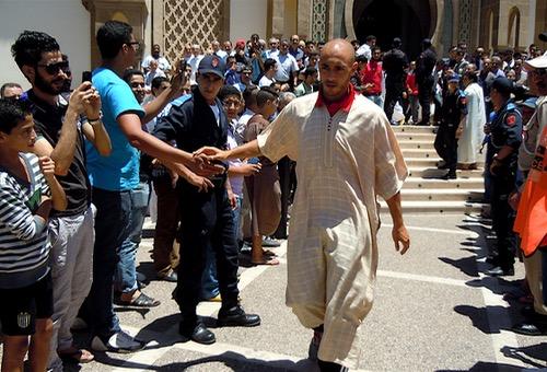 """معسكر """"الأسود"""" في أكادير.. طقوس رمضانية وإقبال على صلاة التراويح"""