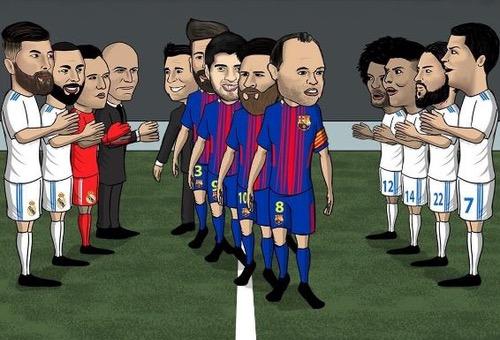 سيرجيو راموس: دوري الأبطال أهم من الثنائية ولن نقيم ممرا شرفيا لبرشلونة