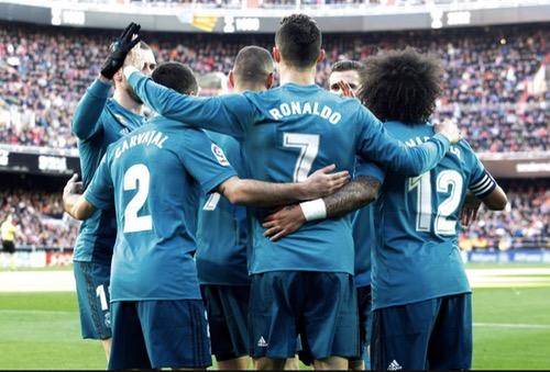 """ريال مدريد يصطاد """"خفافيش"""" بلنسيا برباعية، ويُرمِمُ جراح الإقصاء من كأس الملك"""