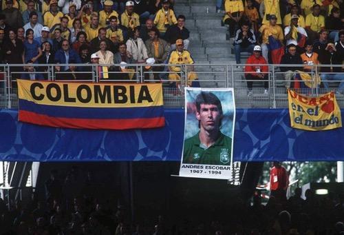 كولومبيا تحيي الذكرى الـ24 عاما على مقتل لاعب المنتخب أندريس إسكوبار