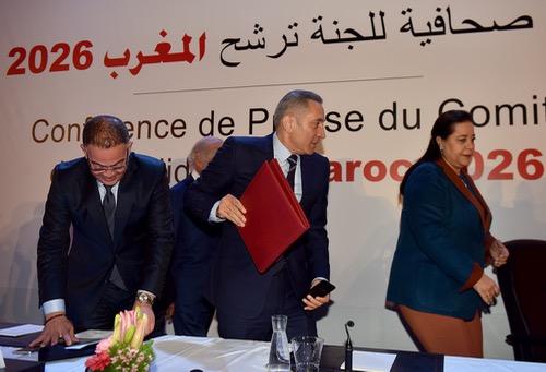 """13 مليار سنتيم.. كُلْفة إعداد والتّرويج لمِلفّ ترشّح المغرب لتنظيم """"مونديال"""" 2026"""