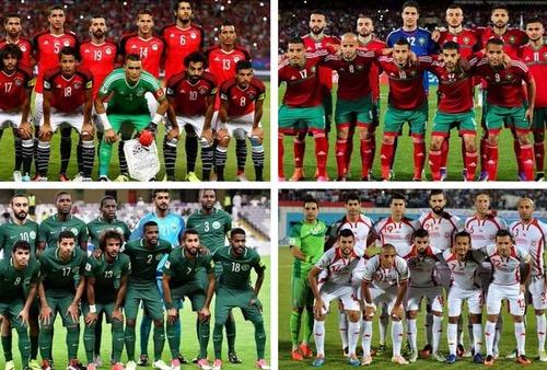 4 منتخبات عربية لأول مرة في مونديال روسيا قبل نسخة قطر 2022