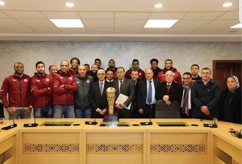 """تكريم """"قراصنة سلا"""" بعد التتويج بكأس إفريقيا للأندية.. وإدارة الفريق: سنواصل العمل"""