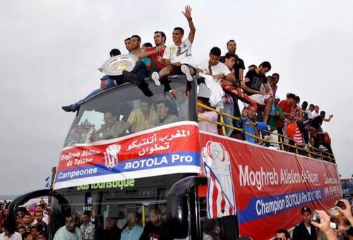 قبل فريق اتحاد طنجة.. أنديَة انتفضت، باغتَت، فخطفت درع البُطولة المغربية