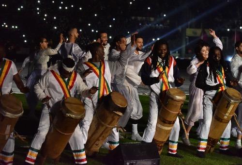 """افتتاح """"الشان"""" بعيون الصحافة الإفريقية: حفل ممتع واحتفاء بالقارة السمراء"""