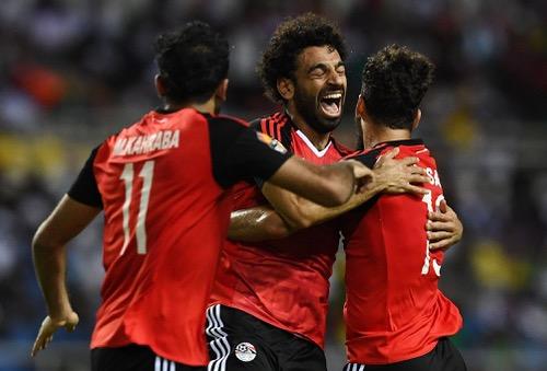 صلاح يقود المنتخب المصري للفوز على الكونغو والتأهل لمونديال روسيا 2018