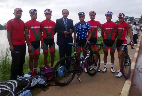 الدراجة المغربية تواصل الريادة القارية في سنة عودة المغرب إلى الاتحاد الإفريقي
