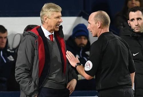 الاتحاد الإنجليزي يدين فينغر بشأن تعليقاته بعد مباراة ارسنال مع وست بروميتش