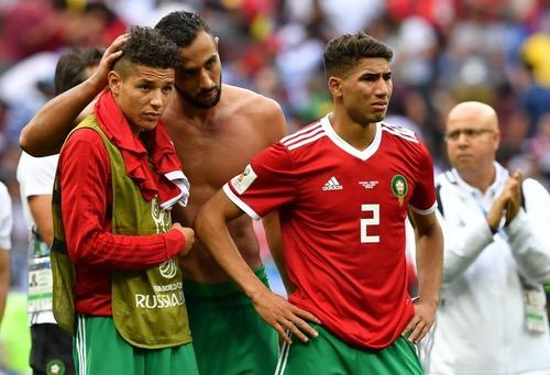 أشرف حكيمي: كنا نستحق الأفضل.. وسنخوض مواجهة إسبانيا لإسعاد المغاربة