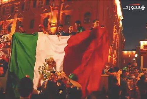 """جمهور المكسيك """"ناشط"""""""