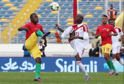 المنتخب السوداني يحقق فوزا عسيرا على غينيا في بطولة إفريقيا للمحليين بالمغرب