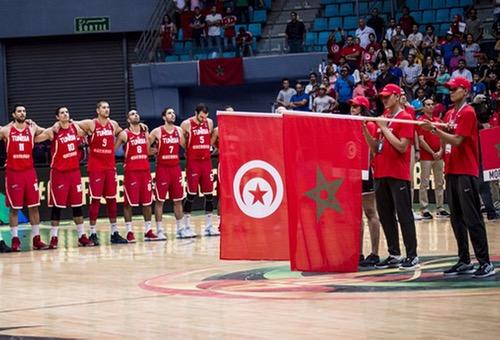 """تونس تَتراجع عن """"بتر"""" خرِيطة المَغرب من مُلصق تصفِيات الأندِية البطلة لكُرة السلّة"""
