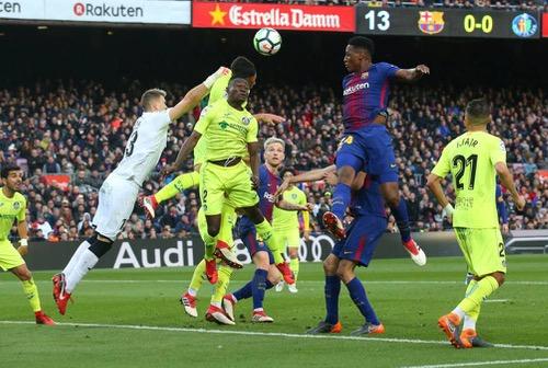 برشلونة يواصل نزيف النقاط ويتعادل مع خيتافي سلبيا بالدوري الإسباني