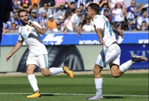 """فوز """"شاق"""" لريال مدريد ضد """"ديبورتيفو ألافيس"""" يستعيد به عافيته في """"الليغا"""""""