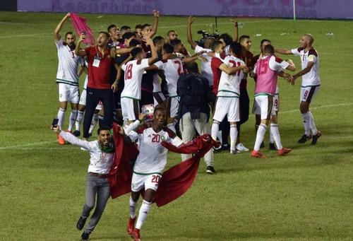 تأهل المغرب إلى المونديال