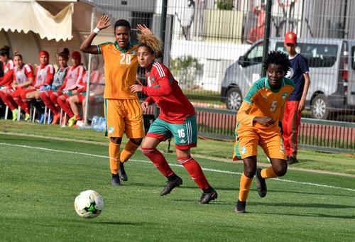 تصفيات كأس إفريقيا للأمم لفئة الإناث.. المنتخب المغربي يتعادل مع ضيفه الإيفواري