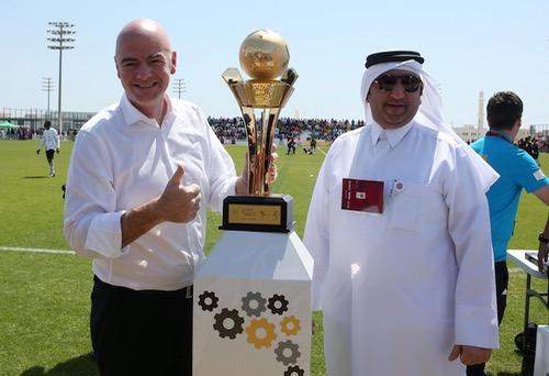 """قطر تحث فيفا على """"ضرورة التشاور"""" بشأن رفع عدد المشاركين في المونديال"""