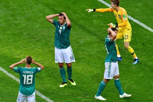 كوريا تهزم ألمانيا وتُخرجها من المونديال.. والمكسيك والسويد في دور 16