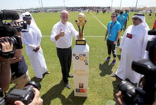 أنفانتينو يبحث عن بديل لتنظيم مونديال 2022 والـ FIFA لهسبورت: كأس العالم سَيُلعب في قطر
