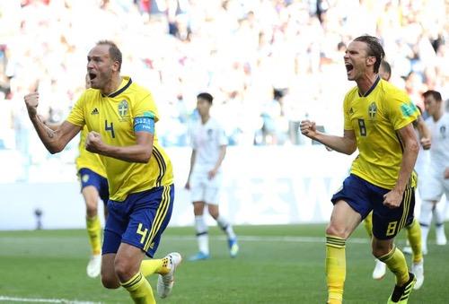 السويد تستعيد مذاق الأهداف وتهزم كوريا الجنوبية في بداية مشوارها بالمونديال
