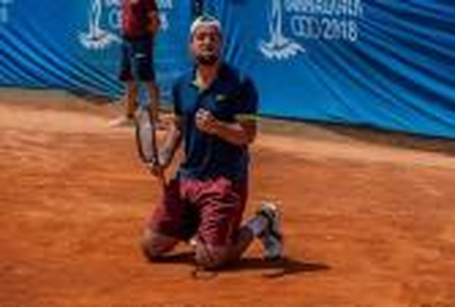 """لمين وهاب يمنح المغرب """"الذهب"""" في دورة ألعاب البحر الأبيض المتوسط بـ""""تاراعونا"""""""