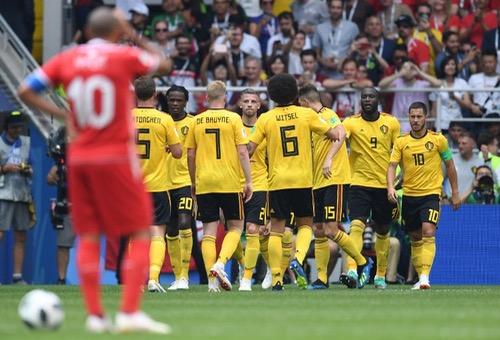 بلجيكا تدك شباك تونس بخماسية وتضع قدما في الدور الثاني لمونديال روسيا