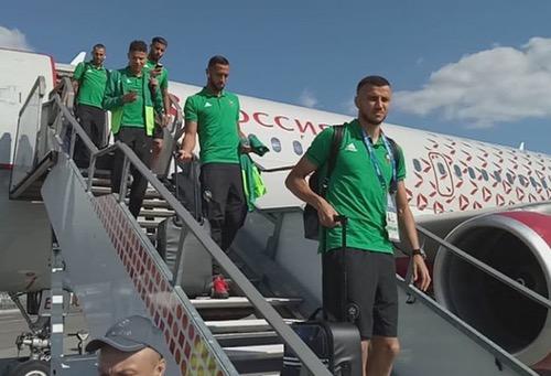 أمرابط يتدرّب مع المجموعَة وداكوستا منفردا والمنتخب حل بموسكو استعدادا للبرتغال