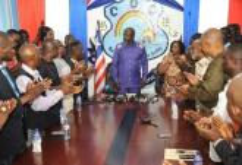 جورج ويا بعد انتخابه رئيسا: سأقضي على الفساد في ليبيريا.. ولا مكان للمُخادعين في حكومتي