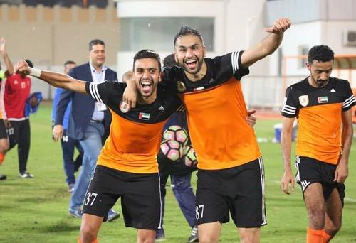 هجهوج يواصل التألق ويبوئ ناديه صدارة دوري الدرجة الأولى الإماراتي